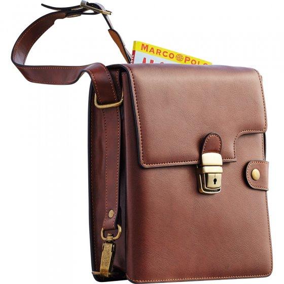 Rindsleder-Herrentasche