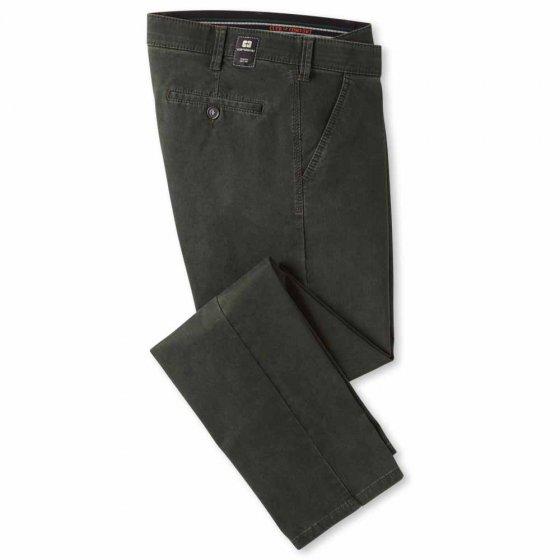 Pantalon en coton high-stretch