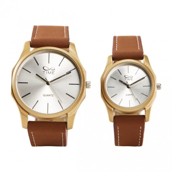 Ihr Geschenk: Elegantes Partner-Uhrenset