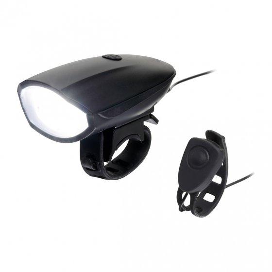Elektrisches Fahrradhorn mit Licht