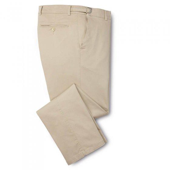Baumwoll-Komforthose,beige, 54 54 | Beige