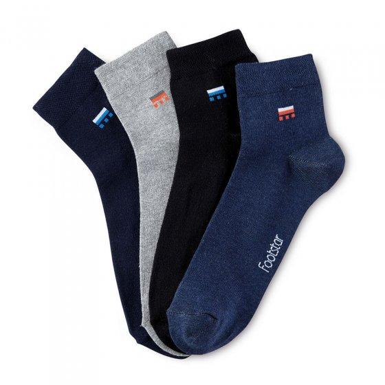 Kurzschaft-Socken 4er-Pack