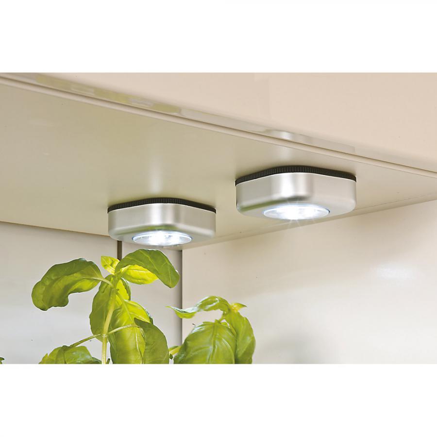 Balkonmobel Poly Rattan : SET 3 STÜCK  Günstig LED TouchlampenSet 3 Stück auf Rechnung