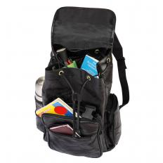 Patchwork-Rucksack aus Leder-2