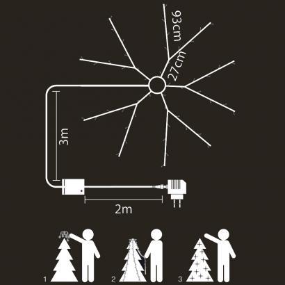 selbstschm ckende led lichterkette g nstig. Black Bedroom Furniture Sets. Home Design Ideas