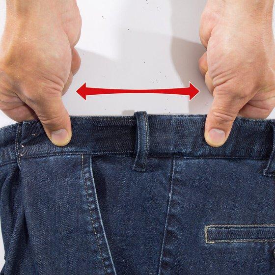 Jean à ceinture extensible