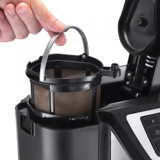 programmierbare kaffeemaschine mit mahlwerk günstig bei  ~ Kaffeemaschine Mit Mahlwerk