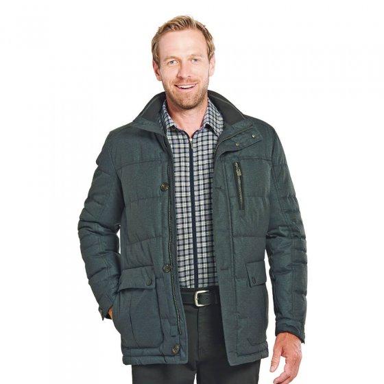 Veste matelassée aspect laine