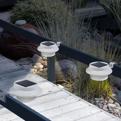 dachrinnen leuchten 3er set g nstig dachrinnen leuchten. Black Bedroom Furniture Sets. Home Design Ideas
