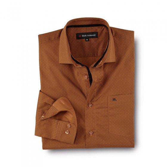 Chemise élégante à motif imprimé