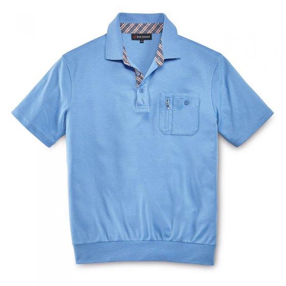 T-shirt qualité interlock au bel effet de contrastes