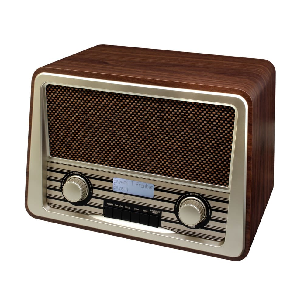 dab retro radio g nstig dab retro radio auf rechnung kaufen und online bestellen im online. Black Bedroom Furniture Sets. Home Design Ideas