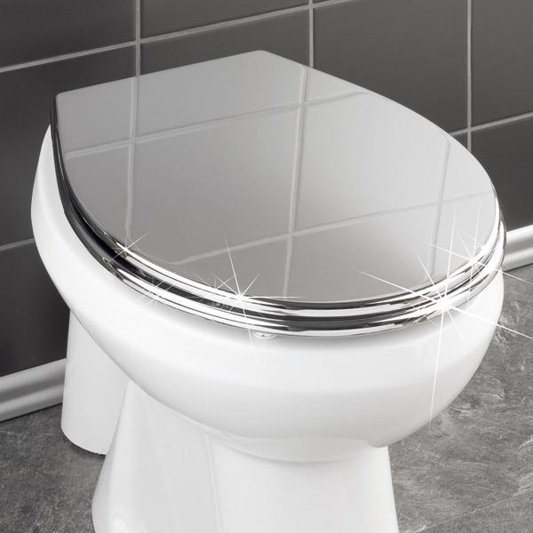 verchromter wc sitz g nstig verchromter wc sitz auf rechnung kaufen und online bestellen im. Black Bedroom Furniture Sets. Home Design Ideas