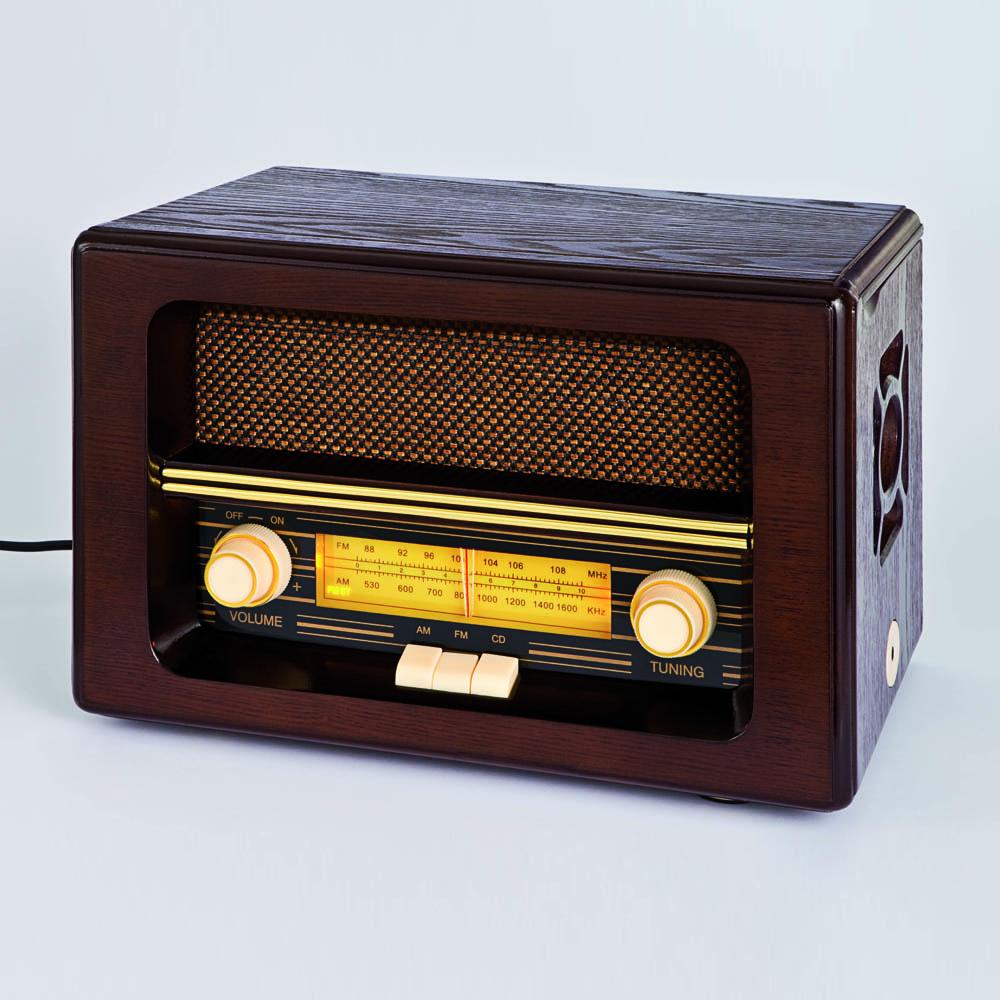 nostalgie radio mit cd spieler g nstig bei eurotops bestellen. Black Bedroom Furniture Sets. Home Design Ideas